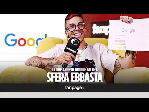 Sfera Ebbasta, Tran, tran, canzoni, intervista: il cantante risponde alle domande di Google