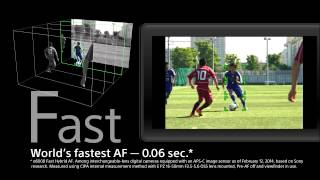 4D FOCUS for A5100 from Sony: Official Video Release