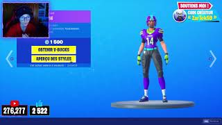 FORTNITE BOUTIQUE of SEPTEMBER 7, 2019! NEW SKIN CLIMBER DURCI d'DURCI at 800 V-Bucks!