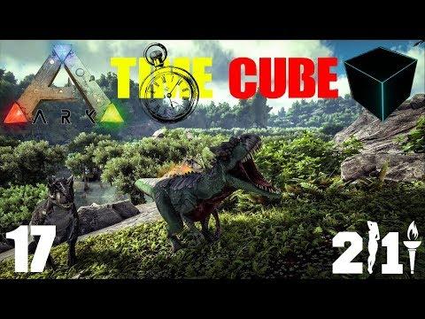 ARK TIME CUBE | GRAPPLE NINJAS !  | THE PURGE | #017 | Ark German | PVP