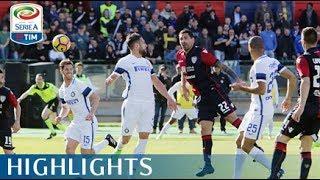 cagliari inter 1 5 highlights giornata 27 serie a tim 2016 17