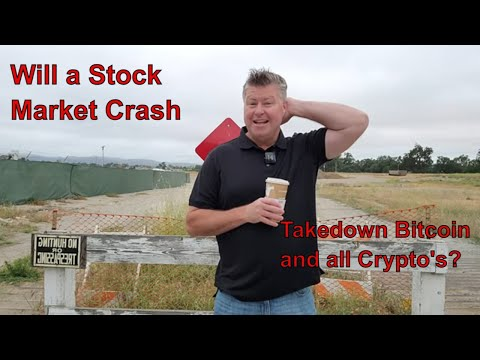 Will the stock market crash take the Crypto market with it?