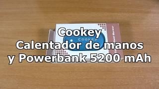 Cookey, powerbank con calentador de manos integrado