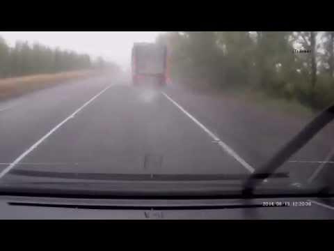 ДТП трасса Нововоронеж Воронеж 19 08 2014. Видеозапись  аварии