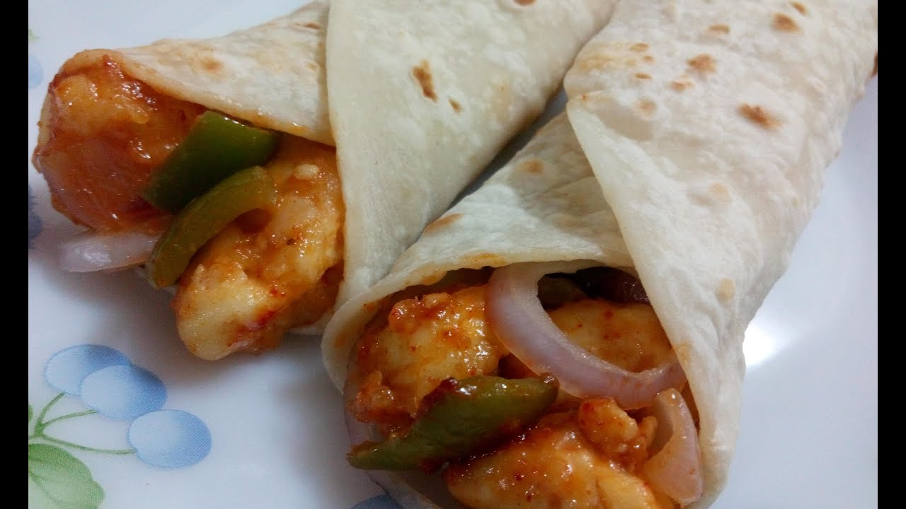 How To Prepare Chilli Panner Frankie Chilli Paneer Roll Paneer