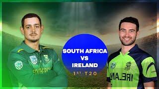 🔴Live: South Africa vs Ireland Live, 1st T20 Live || SA vs IRE Live || Ireland vs South Africa Live