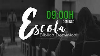 Escola Biblica Dominical 10/11/19
