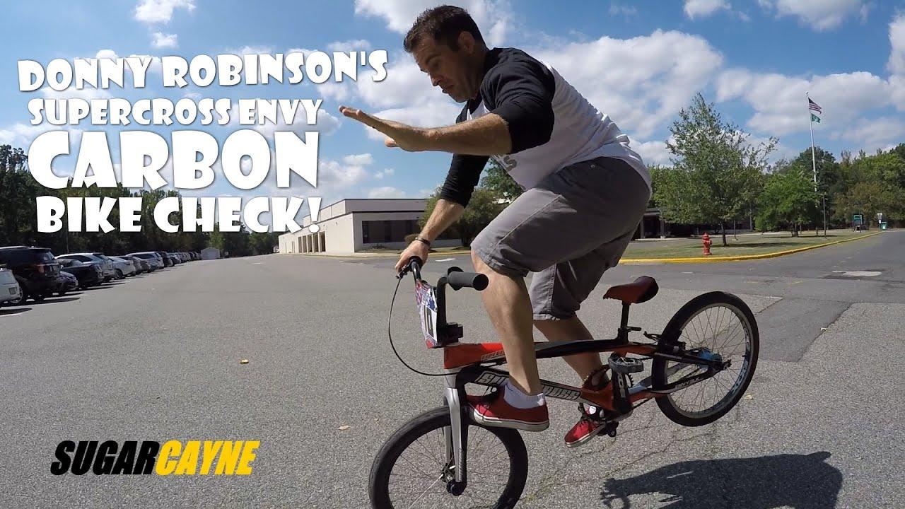 Donny Robinson Supercross Envy Carbon Bike Check - YouTube