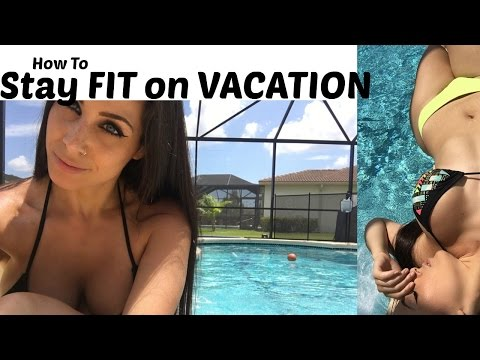 How To Stay Fit on Vacation | 12 Minute HIIT Routine