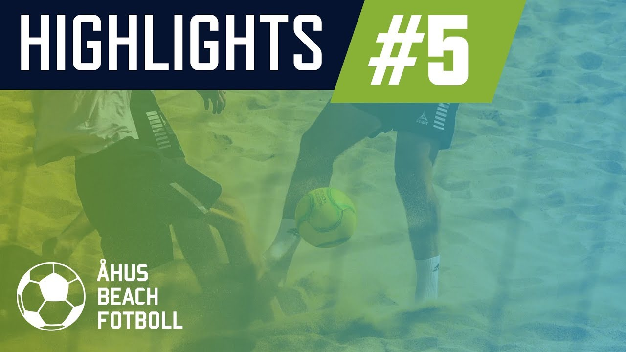 Highlights Onsdag 3/7 | Åhus Beachfotboll 2019