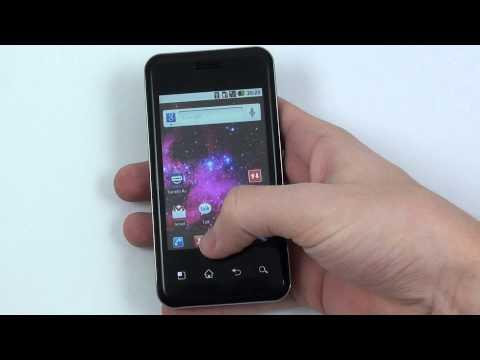 LG Optimus Chic - prostředí Android 2.2