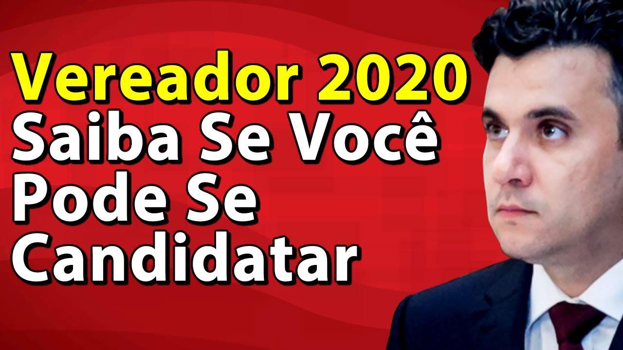 Vereador 2020 Saiba Se Você Pode Se Candidatar | Flávio Aurélio Nogueira Jr.