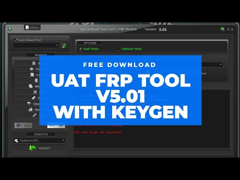 UAT V5.01 FRP Tool Crack With Keygen