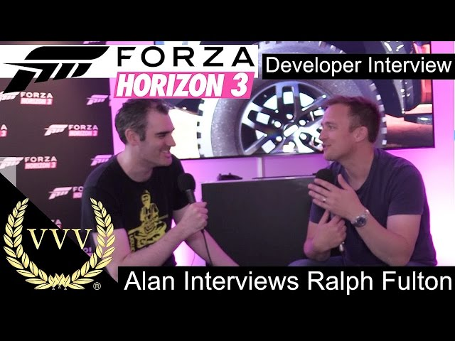 Forza Horizon 3 - Alan Interviews Ralph Fulton - Playground Games