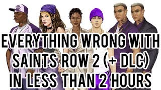 Everything Wrong With Saints Row 2 (+DLC) in Less Than 2 Hours