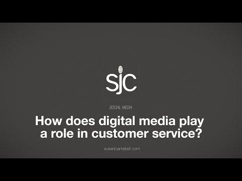 Digital Media's Role in Customer Service
