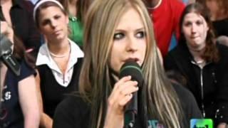 Video Avril Lavigne - Interview @ TRL 25/05/2004 download MP3, 3GP, MP4, WEBM, AVI, FLV Juni 2018