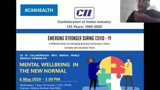Mental Wellbeing in the New Normal (Webinar 5)