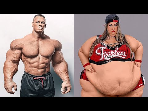 John Cena Vs Nikki Bella Transformation ★ 2018 thumbnail