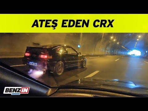 Ateş eden Honda CRX | Tekerde 225 beygir | VLOG