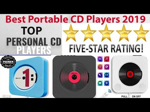 Best Portable CD Players 2019