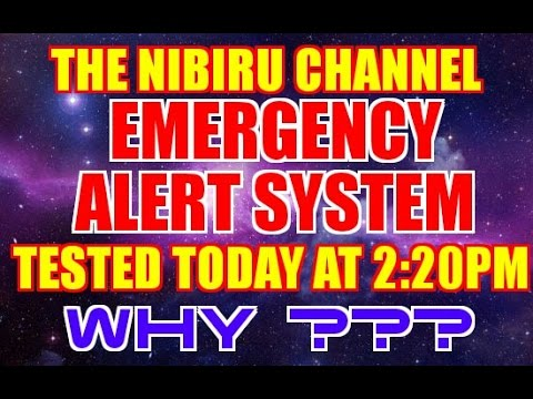 🔴 EMERGENCY ALERT SYSTEM 🔴 Suspicious Testing Begins Today September 28th 2016 at 2:20 p.m. edt.