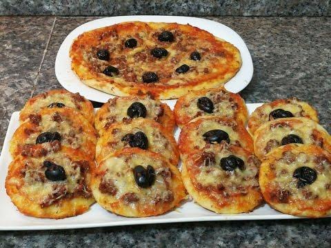 بيتزا سهلة بعجينة ناجحة و رطبة مع طبخ ليلى pizza