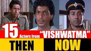 """15 Bollywood Actors from """"VISHWATMA"""" 1992 