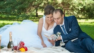 Фрагмент свадебного видео прогулка
