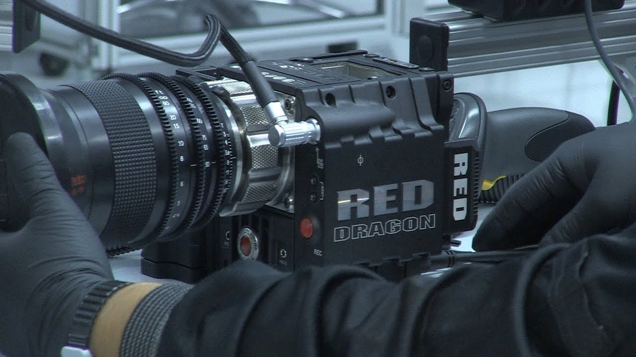 NAB2013: Red Dragon / Global Shutter Mount / Redray Player