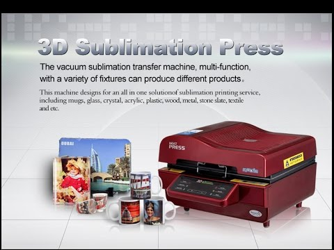 3D Vacuum Sublimation Heat Press Transfer Printing Machine (ST-3042)