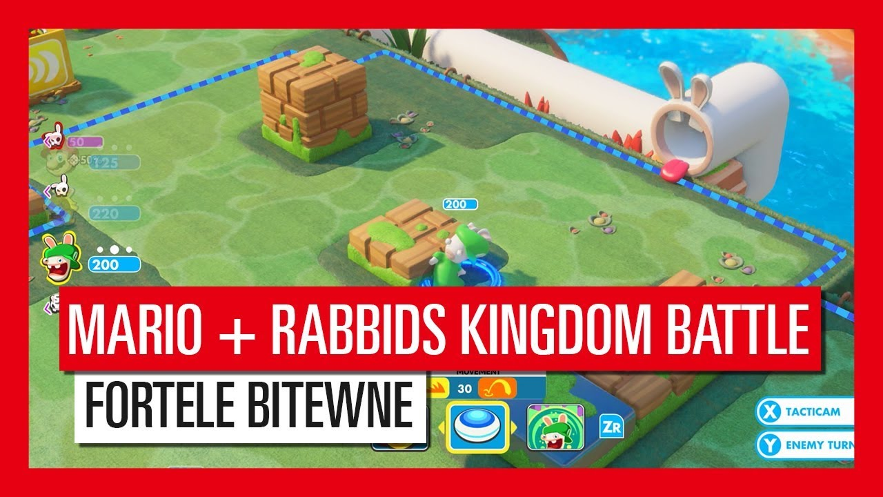 Mario + Rabbids Kindgom Battle – Fortele bitewne