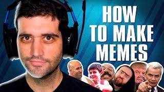 Os melhores MEMES de uma maneira que você nunca viu, How to Make Memes