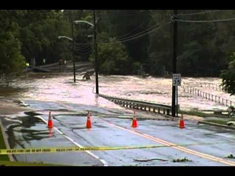 Hurricane Irene- Swimming River Reservoir     Lincroft, NJ