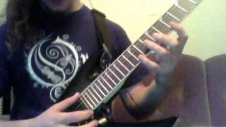 Megadeth - Into the Lungs of Hell (tapping lesson)