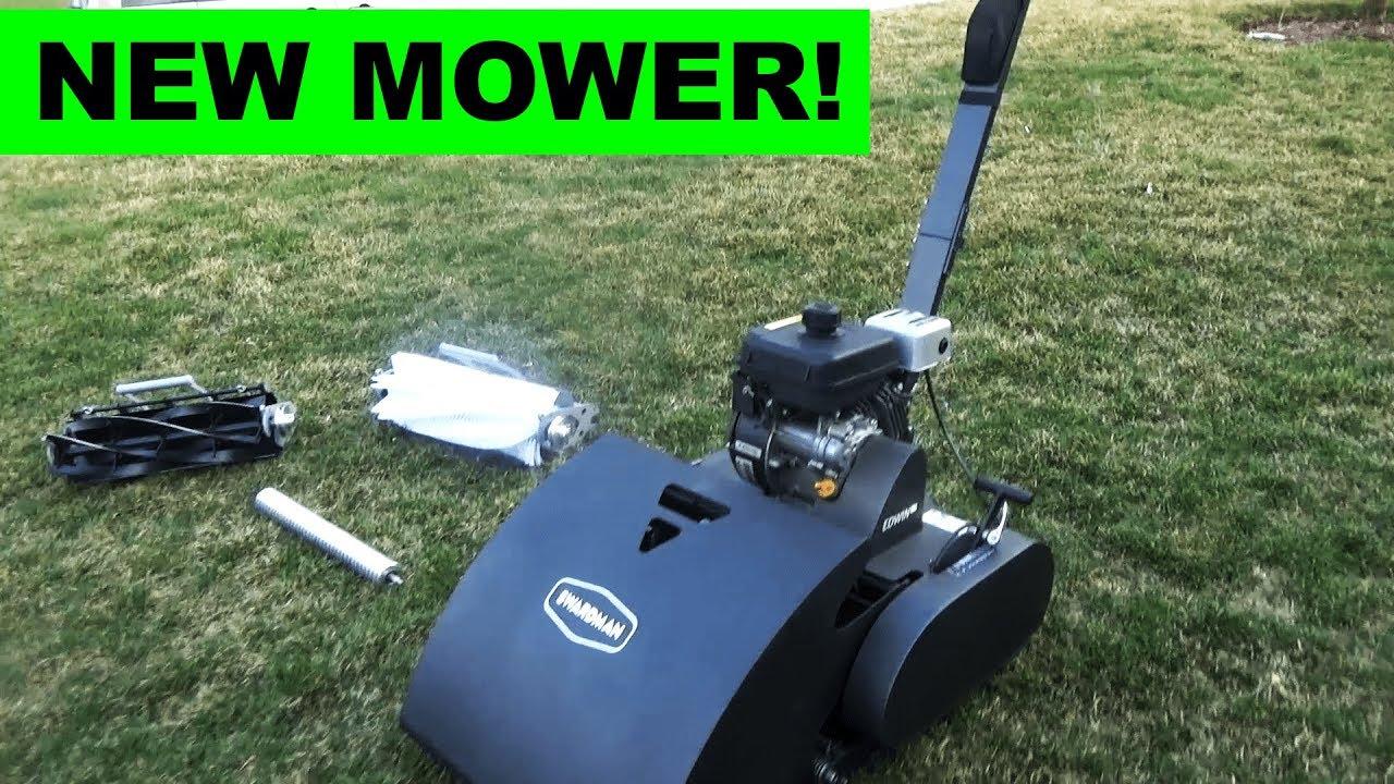 Introducing the Swardman Edwin 2 0 Reel Mower