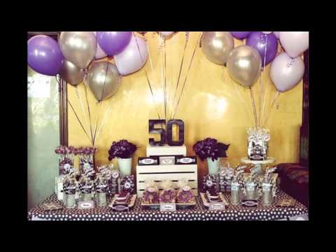 50th birthday party ideas youtube for 50th birthday decoration ideas for women