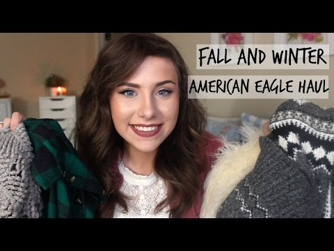 Huge American Eagle Haul & Try On | November & December