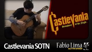 "Castlevania ""wood Carving Partita"" On Acoustic Guitar By Guitargamer (fabio Lima)"
