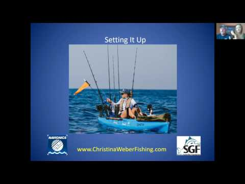 Offshore Fishing with Mike Readling and Christina Weber