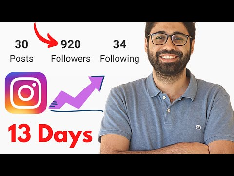 How I Got 920 Instagram Followers in 13 Days Following This Strategy.