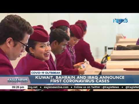 Kuwait, Bahrain And Iraq Announce First Coronavirus Case