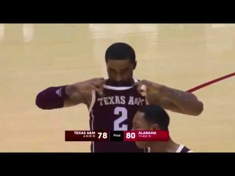Mens Basketball: Highlights | A&M 81, Alabama 80