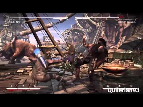 Mortal Kombat XL: Kung Jin (Ancestral) Combo Compilation