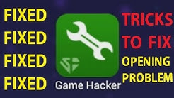 How to fix Sb game hacker opening problem