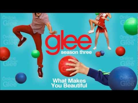 What Makes You Beautiful - Glee [HD Full Studio]