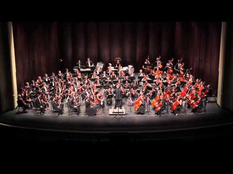 SHOSTAKOVICH Symphony No 9: III, IV, V - UNC Symphony Orchestra - 2013