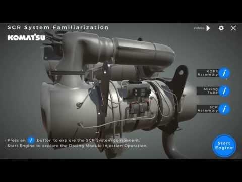 Diesel Engine - Virtual Training Course (Komatsu)
