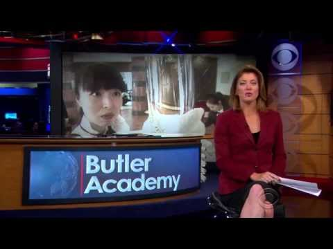 CBS Evening News, USA about The International Butler Academy in China