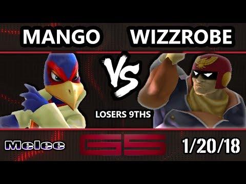GENESIS 5 SSBM - C9 | Mango (Falco) VS Fry's | Wizzrobe (Captain Falcon) - Smash Melee L9